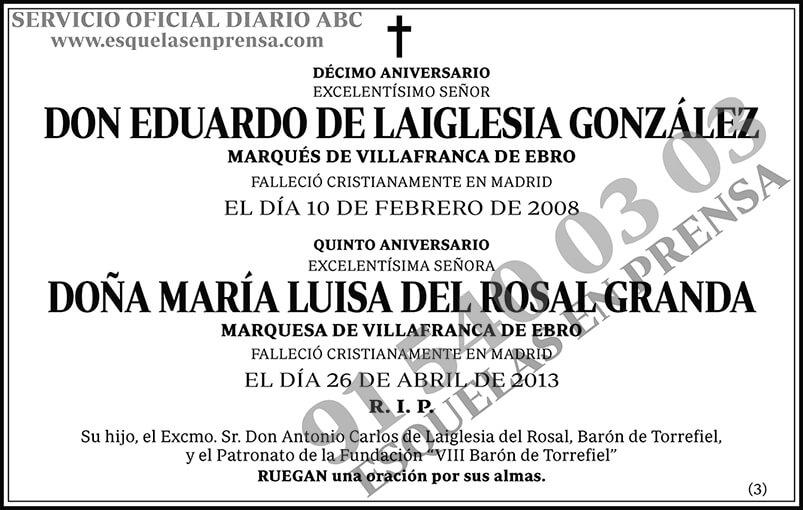 Eduardo de Laiglesia González